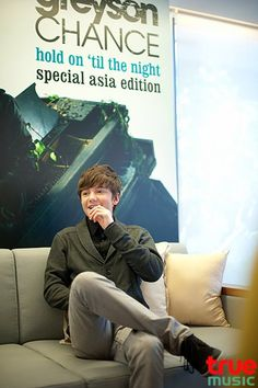 """Greyson Chance interview with """"True Music"""" in Taiwan - 2012 Greyson Chance, Bad Kids, No One Loves Me, Taiwan, Knowing You, Piano, First Love, Encouragement, Interview"""