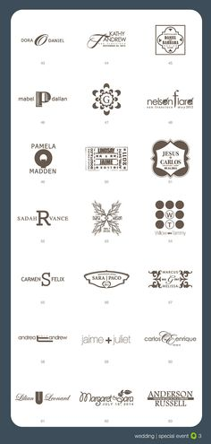 **it's time to brand your wedding** Custom Design - Custom logo - Wedding logo - Event logo - Digital Files ** Wedding ** boda ** logo ** monogram Wedding Logo Design, Wedding Logos, Wedding Stationery, Wedding Events, Weddings, Save The Date Wedding, Bridal Logo, Kate Spade Bridal, Invitations