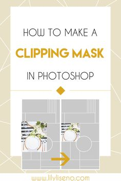Clipping masks are essential when creating mood boards and style guides