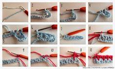 Delicadezas en crochet Gabriela: Manta de restos de lanas de colores