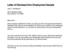 termination letter samples