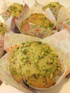 Pistazien Muffins, die italienischen Version des klassischen Muffins - das Rezept