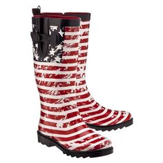rainboot, flags, style, american flag, woman shoes, rain boot, women american, flag rain, boots