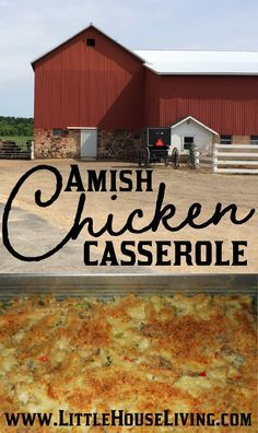 An Easy Chicken Casserole recipe. How to make your own version of Amish Chicken Casserole from scratch and real foods! Real Food Recipes, Chicken Recipes, Cooking Recipes, Yummy Recipes, Yummy Food, Pan Cooking, Chicken Meals, Healthy Recipes, Rotisserie Chicken