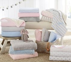 Looking for items to add to your baby gift registry? Looking for a unique, customized baby gift? View our updated list of the best personalized baby gifts. Best Baby Blankets, Knitted Baby Blankets, Personalized Baby Blankets, Personalized Baby Gifts, Barn Door Tv Stand, Custom Baby Gifts, Stroller Blanket, Small Furniture, Baby Furniture