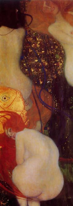 "Klimt. So beautiful! Klimt has been one of my favorite artists since the very first time I saw ""The Kiss."""