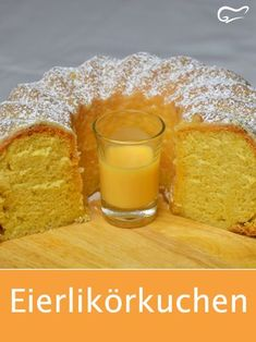 This simple and quick recipe for a juicy egg liqueur cake ensures . - Kuchen- und Backrezepte - This simple and quick recipe for a juicy egg liqueur cake is sure to delight. Egg Recipes, Quick Recipes, Quick Easy Meals, Easy Dinner Recipes, Baking Recipes, Cake Recipes, Dessert Recipes, Eggnog Cake, Easy Healthy Breakfast