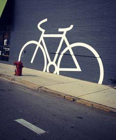 "Would people in Little Rock like to see something like this? ""Chicago bike art"" … Would people in Little Rock like to see something like this? Bicycle Store, Bicycle Art, Bicycle Sketch, Bicycle Drawing, Graffiti Art, Street Art, Bike Room, Radler, Bike Poster"