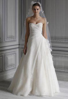 Monique Lhuillier - Bridal Gowns - Inez - http://womenspin.com/bridal-gowns/monique-lhuillier-bridal-gowns-inez/