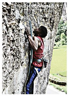 Harau Valley ,Indonesia ,West Sumatera ,Rout : Liang limbek 5.13c  -------------------- Nadim Muhammad --------------- Picture by : Fajri Sendia .P.