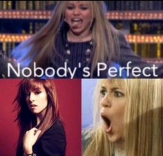 No hate on Miley or Hannah but this is good. Christina isn't perfect, but this is good How To Feel Beautiful, Most Beautiful, Christina Grimme, Voice Singer, All Is Vanity, Nobodys Perfect, Dont Let Go, Ill Miss You, March 12th