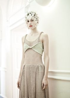 Stunning Knitwear by Craig Lawrence 2012 LFW from Style Bubble Blog