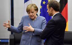 La crise politique allemande fragilise les projets européens de Macron