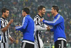 Alvaro Morata Photos - Juventus v Real Madrid CF  - UEFA Champions League Semi Final - Zimbio