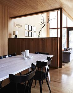 A 1940 house designed by the modernist architect for his family in Ross, California.