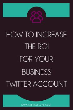 Twitter  Business   Return on Investment    Stop using the old Twitter Strategy for business. A few simple tweaks will increase your return on investment.