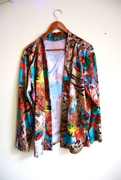 Vintage 1980s Womens Plus Size clothing Art by HunkyDorryVintage, $20.00
