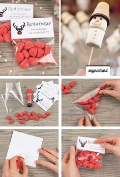 DIY gifts for young and old Christmas: crafts, DIY and .- DIY gifts for young and old Christmas: DIY and decoration Diy Gifts For Christmas, Old Christmas, Little Christmas, Navidad Simple, Diy Cadeau Noel, Simple Gifts, Craft Tutorials, Diy And Crafts, Gift Ideas