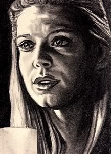 Tara (from Buffy) sketch card by Rac Harper (the scanned image is theirs as well).