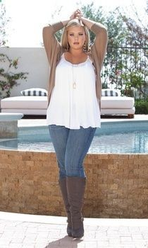 Australia plus size women clothing - Ok, so this is an advertisement for this Aussize plus-sized womens clothing site but I just LUV the girl in the photo. Shes gorgeous and she isnt stick thin. We need to remind ourselves that this is possible.