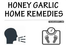 HONEY GARLIC HOME REMEDIES