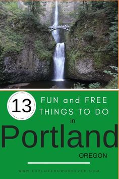 From visiting Portland's famous Saturday market to hiking scenic Forest Park, this is a list of free—or almost—free things to do. Get insider tips for your Portland visit here. Portland Oregon | Portland Oregon things to do in | Portland Oregon city | USA travel |free things to do in Portland Oregon | cheap things to do in Portland Oregon| #traveltips