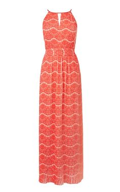 Printed Pleat Maxi Dress by Karen Millen. I love how this dress moves. Best Maxi Dresses, Prom Dresses, Pretty Summer Dresses, Dress Images, Karen Millen, Holiday Dresses, Dress Me Up, Fashion Outfits, Clothes For Women