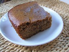 Mrs Ed's Research and Recipes: Butternut Snack Cake (SCD, GFCF)