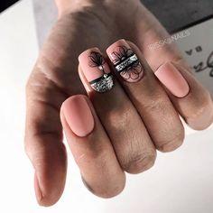 Classy Nails, Trendy Nails, Pastel Nails, Pink Nails, Diy Acrylic Nails, Nail Jewels, Square Nails, Nail Art Hacks, Flower Nails