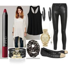 """""""Black and Gold and Red, move over.."""" by coralistajane on Polyvore"""