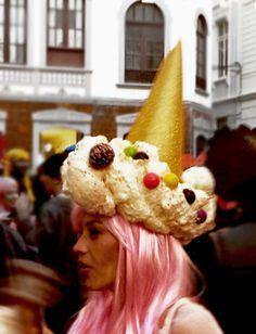 Fiesta de la peluca. Carnaval 2015. La Palma. Canarias.