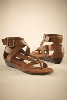Cyprus Sandal - Thong Sandal, Grecian, Cushioned Insole | Soft Surroundings