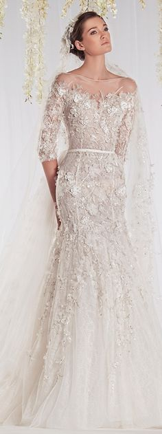 Ziad Nakad 2015 Haute Couture Bridal Dress