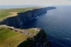 Cliffs of Moher Iron Staircase, Round Tower, Tower Building, Cliffs Of Moher, Connemara, Location Map, Run Around, Sea Birds, Mountain Range
