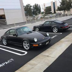 #hinten #vorne #vonVon: vorne & hinten Porsche 964, Porsche 911 Classic, Porsche Sports Car, Porsche Cars, Custom Porsche, Cars Series, Vintage Porsche, Import Cars, Amazing Cars