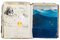 Oliver Jeffers | sketchbook (via Pinterest)