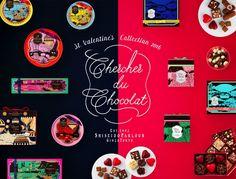 資生堂パーラー「バレンタインコレクション2016」限定発売 - カフェではハートいっぱいのパフェも!
