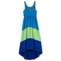 Our Disorerly Kids Colorblock Maxi Dress (Girls 7-16) is super cute for your little girl! The best part? It's on sale now at JCP!    Pair our bright colorblock maxi dress with cute flip flops, and she's ready for a party, the theater or meeting friends.