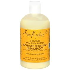 Shea Moisture Organic Raw Shea Butter Moisture Retention Shampoo - for Low Poo transitioning to No Poo. Hair Without Shampoo, Hair Shampoo, Dry Shampoo, Low Poo Shampoo, Shea Butter Shampoo, Raw Shea Butter, Natural Hair Journey, Natural Hair Care, Natural Hair Styles