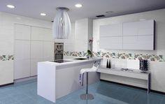 Colección Bouquet. Disponible en 20x60 cm. Acabado Brillante. Gloss surface finished. #bouquet #tauceramica #color #ceramica #tile #revestimiento #walltile #interiordesign #cocina #kitchen www.tauceramica.com www.facebook.com/tauceramica