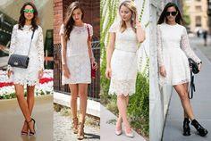 Vestido de renda curto: dicas para usar sem erro - Dicas de Mulher
