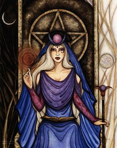 High Priestess By Winter Wings Jessica Galbreth