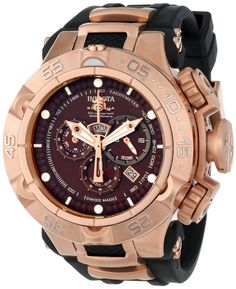 Invicta Men's Quartz Black Watch
