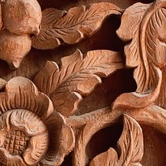 "Carving Leaves & Foliage into Wood ~ ""The best way to develop a realistic technique for leaf carving is to understand and utilize a variety of woodcarving tools."""