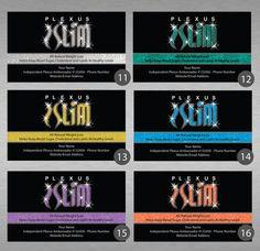 Plexus Slim Business Cards Design Digital File by CelebrationCity, $10.00