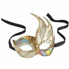 Italian Mask - Gold Glitter #Pier1