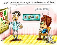 Chiste de oculista http://www.encuentos.com/ilustradores-infantiles/chiste-de-oculista/