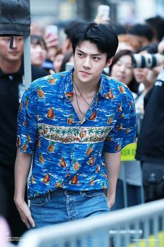"170814 SEHUN at Yesterday's ""The War"" Public Fansign"