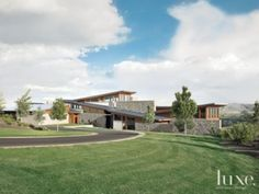 Awesome architecural design for Yakima Valley site and context...