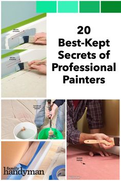 Learn how to paint like a pro and pick up some great tips for achieving a perfectly smooth and even paint job. Painting Room Tips, Painting Tricks, Room Paint, Diy Painting, Color Mixing Guide, Home Repair Services, Home Fix, Professional Painters, Kitchen Cabinets In Bathroom